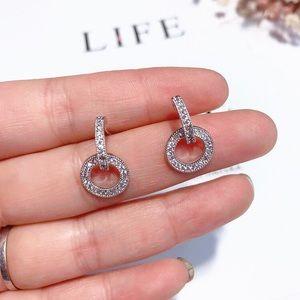 Coming soon! CZ Crystal Sterling Silver Earrings